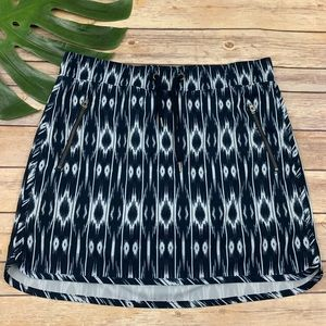Athleta Reflection stretch-in ikat print skort